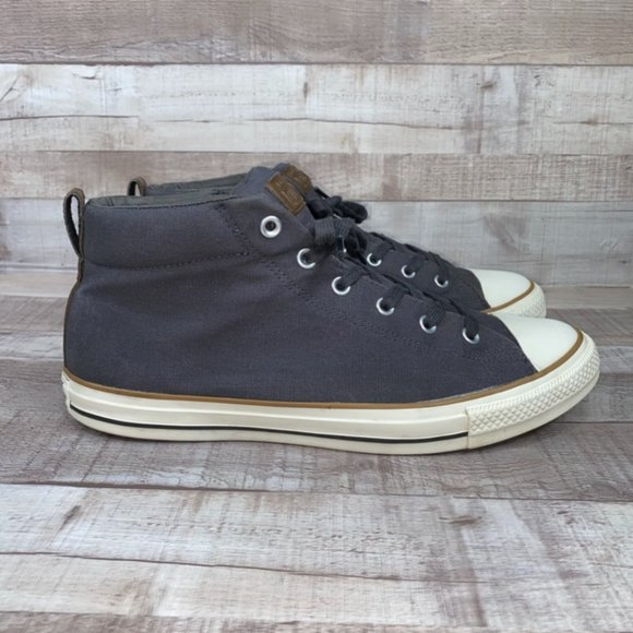 Converse Mid Chuck Taylor Blue All Star Shoes 12
